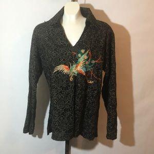 Custo Barcelona Women's Embroidered Top